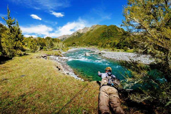 Owen River Lodge, South Island, New Zealand