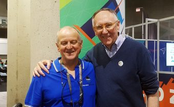 John Black with Jack D of ESRI