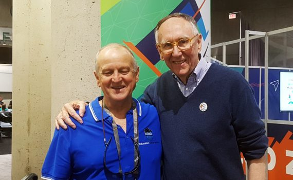 John Black and Jack Dangermond