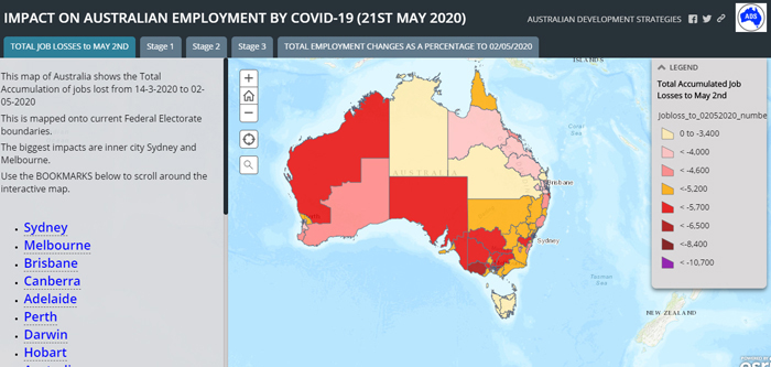 Impact on Australian Employment by COVID-19 by John Black, ADS Chairman